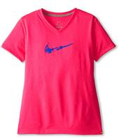 Nike Kids - Legend V-Neck Swoosh Fill Tee (Little Kids/Big Kids)