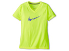 Nike Kids Legend V Neck Swoosh Fill Tee