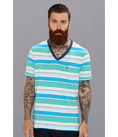 Original Penguin - V-Neck Stripe Tee
