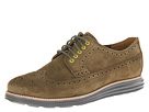 Cole Haan - Lunargrand Longwing (Olive Green Suede/Camo)