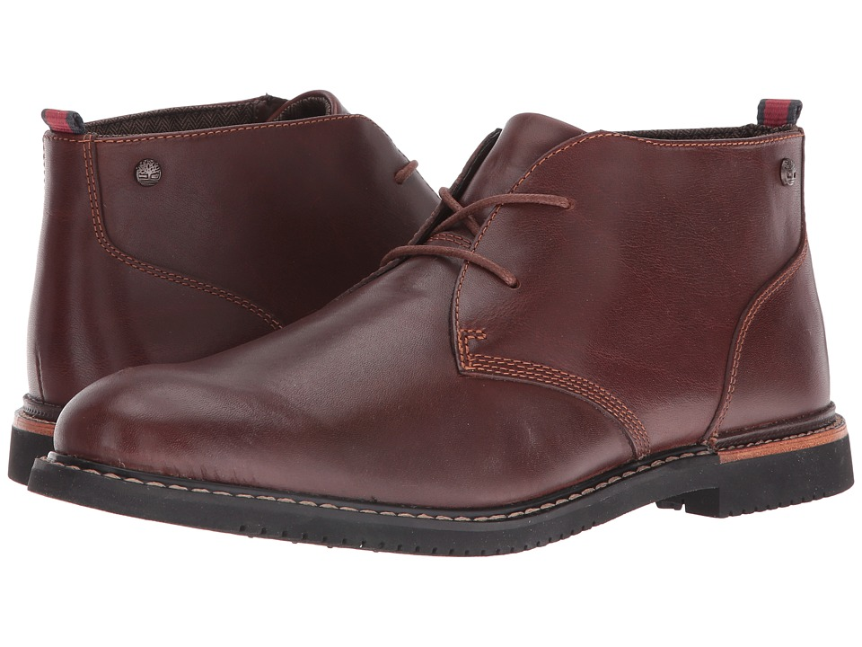 Timberland Earthkeepers(r) Brook Park Chukka (Red/Brown Smooth) Men