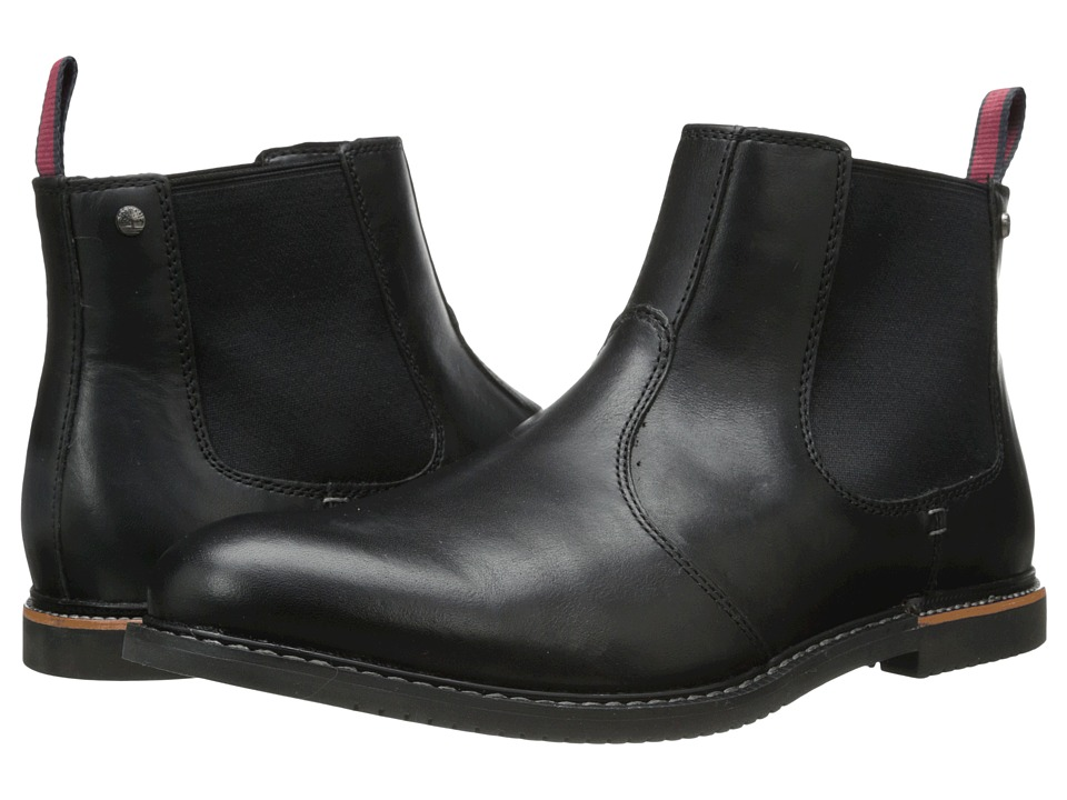 Timberland - Earthkeepers Brook Park Chelsea (Black Smooth) Men