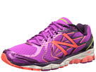 New Balance W1080v4 Purple, Yellow Shoes