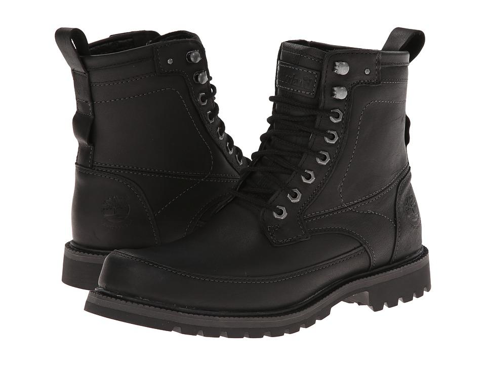 Timberland - Earthkeepers Chestnut Ridge 6 Boot Waterproof (Black Smooth) Men