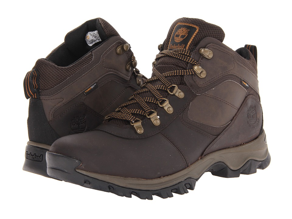 Timberland Earthkeepers Mt. Maddsen Mid Waterproof (Dark Brown) Men