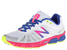 New Balance W890v4 White, Purple Shoes
