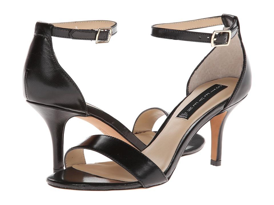 Steven Viienna (Black Leather) High Heels