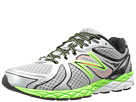 New Balance M870v3 Silver, Green Shoes