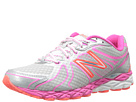 New Balance W870v3 Silver, Pink Shoes
