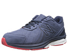 New Balance M2040 Navy, Red Shoes