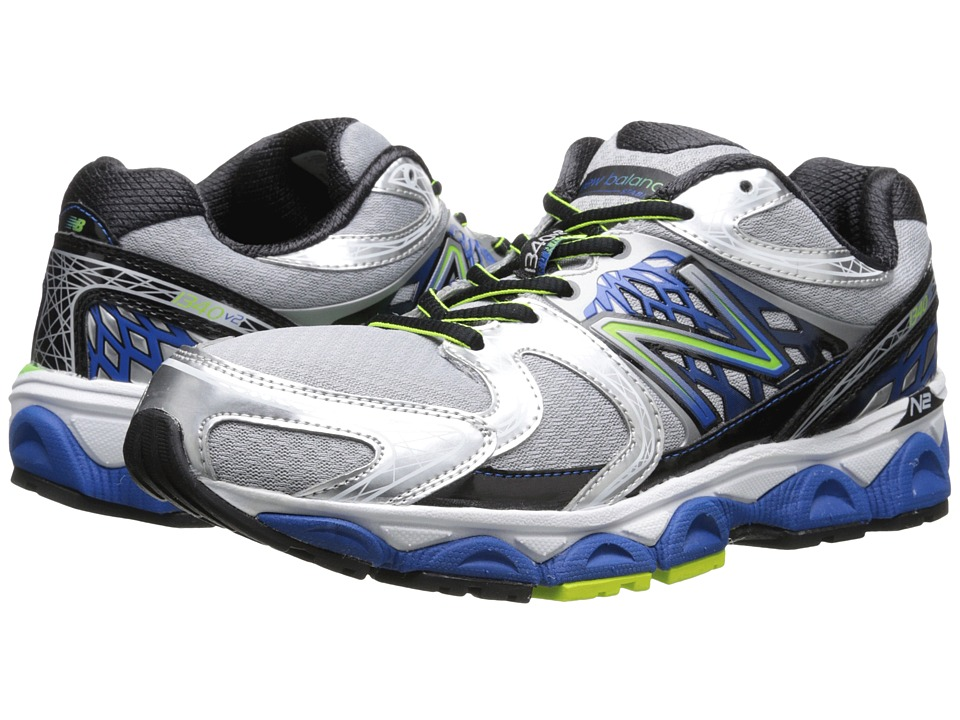 New Balance - M1340v2 (Silver/Blue) Mens Running Shoes