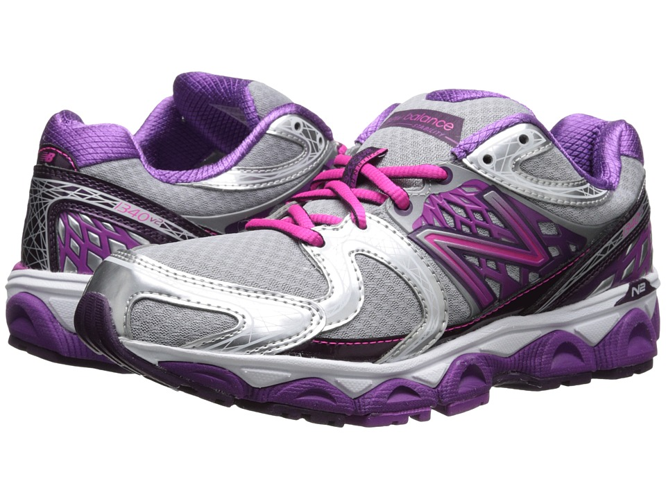 New Balance - W1340v2 (Silver/Pink) Womens Shoes