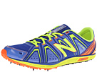 New Balance MXC700v3 Spike Blue, Yellow Shoes