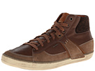 Geox U Box (Hi Top) (Desert/Whisky) Men's Lace up casual Shoes