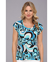 MICHAEL Michael Kors - Boxy Elliptical Top