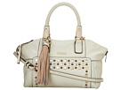 GUESS Check Mix Uptown Satchel