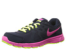 Nike Revolution 2 (Obsidian/Dark Obsidian/Volt/Pink Foil)