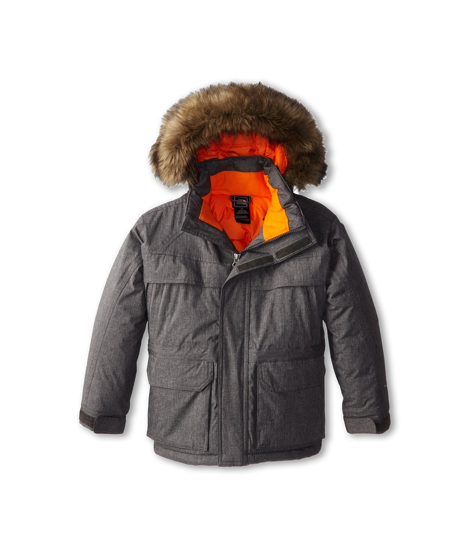 The North Face Kids Mumurdo 2 Parka (Little Kids/Big Kids) (Graphite Grey Melange) Boy's Coat