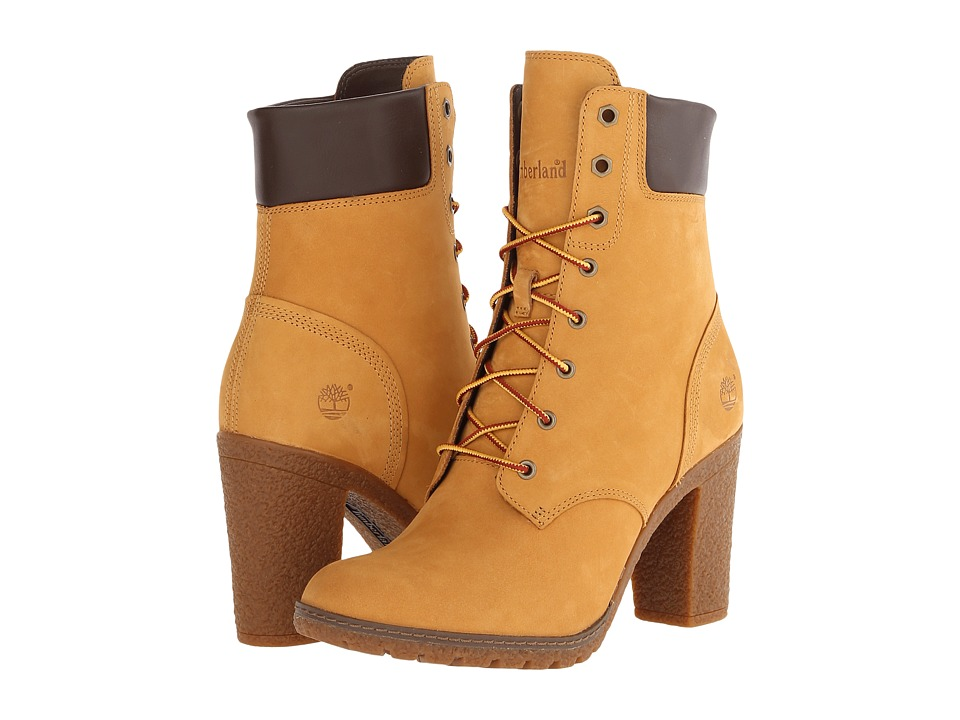 Timberland - Earthkeepers Glancy 6 Boot (Wheat Nubuck) Women