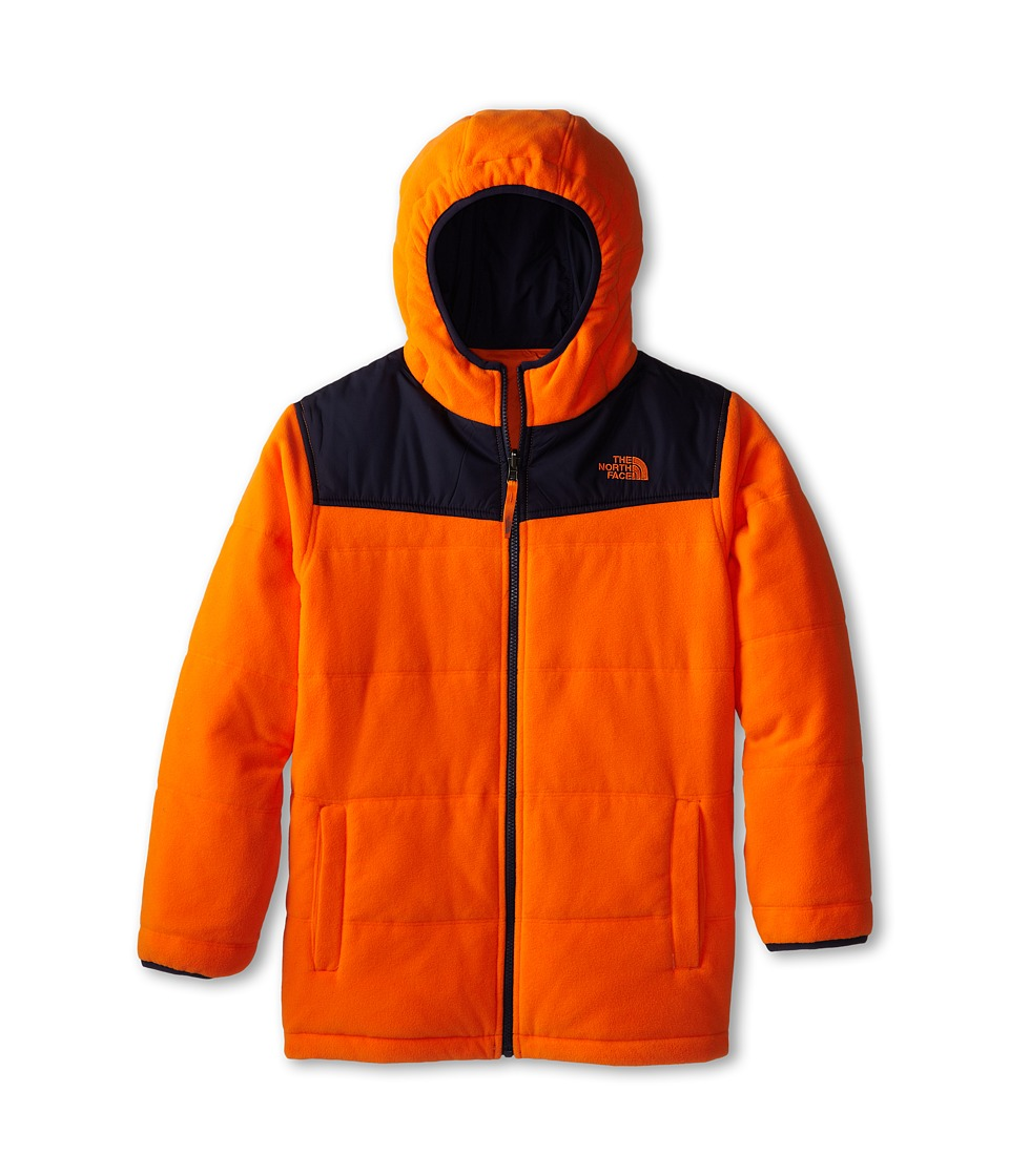 The North Face Kids Boys' Reversible True Or False Jacket (Little Kids/Big Kids) (Peel Orange) Boy's Coat