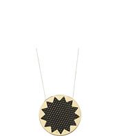 House of Harlow 1960 - Perforated Sunburst Pendant Necklace