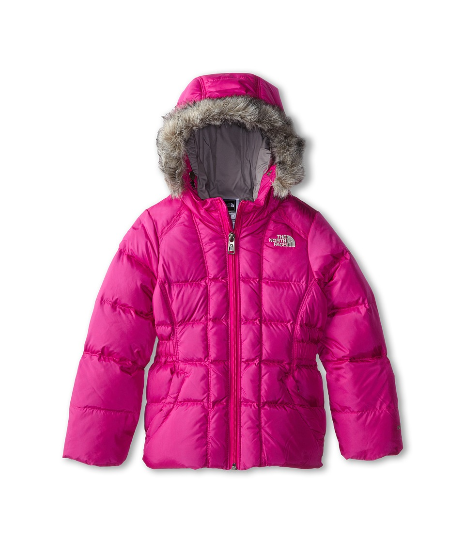 The North Face Kids Gotham Jacket (Toddler) (Azalea Pink) Girl's Coat