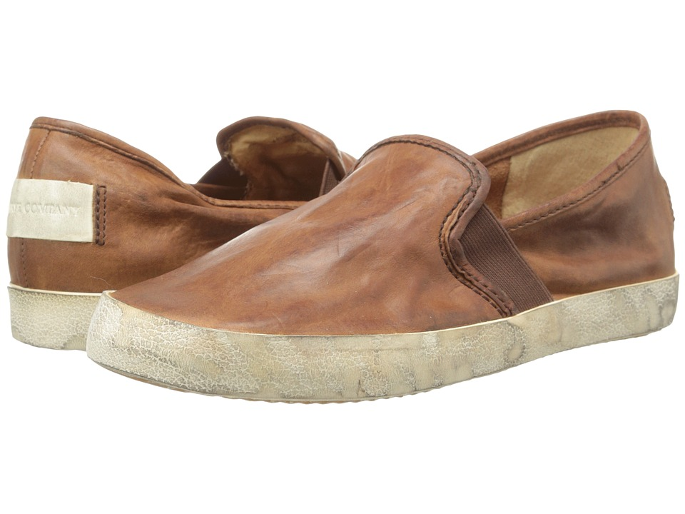 Frye - Dylan Slip (Cognac Washed Smooth Vintage) Women