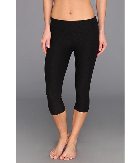 Beyond Yoga - Quilted Essential Legging (Steel) - Apparel