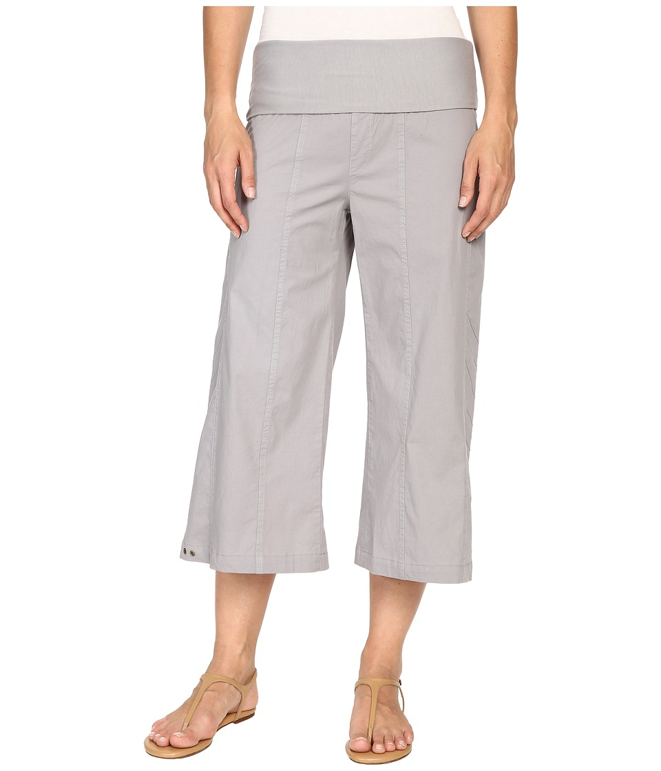 XCVI Indria Wide Leg Crop (Earl Grey) Women's Casual Pants