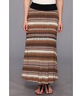 Karen Kane Plus - Plus Size Tribal Print Maxi Skirt