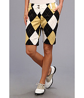 Loudmouth Golf - Black and Tan Short