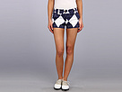 Loudmouth Golf Navy and White Argyle Mini Short