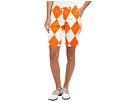 Loudmouth Golf Orange and White Mega Short