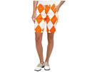 Loudmouth Golf Orange and White Mega Short