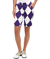 Loudmouth Golf - Purple and White Short