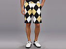Loudmouth Golf Black and Tan Short