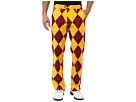 Loudmouth Golf Burgundy and Maize Pants