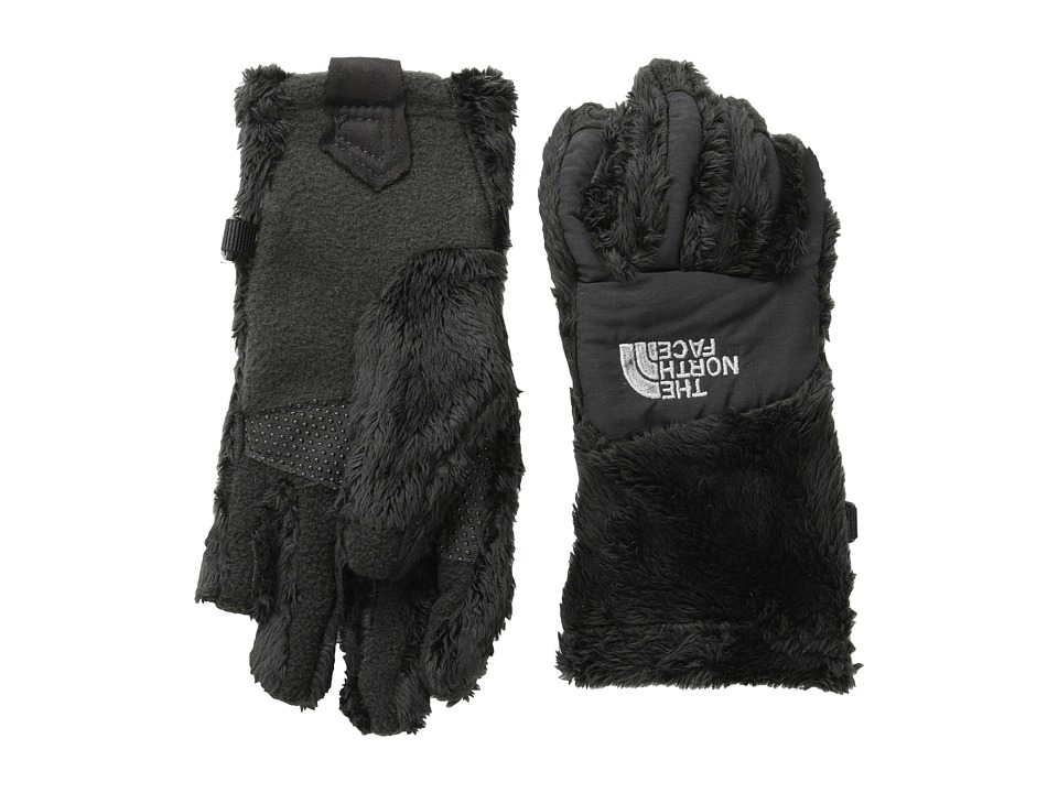 The North Face Kids - Girls Denali Thermal Etiptm Glove (Big Kids) (TNF Black (Prior Season)) Extreme Cold Weather Gloves