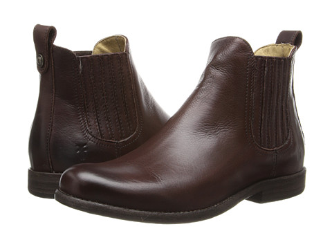 Frye Phillip Chelsea - Dark Brown Soft Vintage Leather