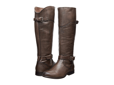 Shop Frye online and buy Frye Phillip Riding Grey Soft Antique Shoes - Frye - Phillip Riding (Grey Soft Antique) - Footwear: The Phillip Riding boot from Frye offers all the elegant touches of a riding boot for everyday wear. ; Tall riding-inspired boot. ; Soft vintage leather upper with burnished finished. ; Side zip closure for easier on and off. ; Leather lining for a comfortable next-to-skin feel. ; Lightly cushioned leather footbed. ; Low stacked heel. ; Durable leather outsole. ; Imported. Measurements: ; Heel Height: 1 in ; Weight: 1 lb 9 oz ; Shaft: 17 in ; Platform Height: 1 2 in ; Product measurements were taken using size 10, width B - Medium. Please note that measurements may vary by size.