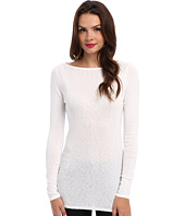 Michael Stars - Slub Long Sleeves Boatneck Tunic