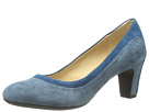 Geox - D Marie Claire Mid (Blue/Avio (Suede Streamline))