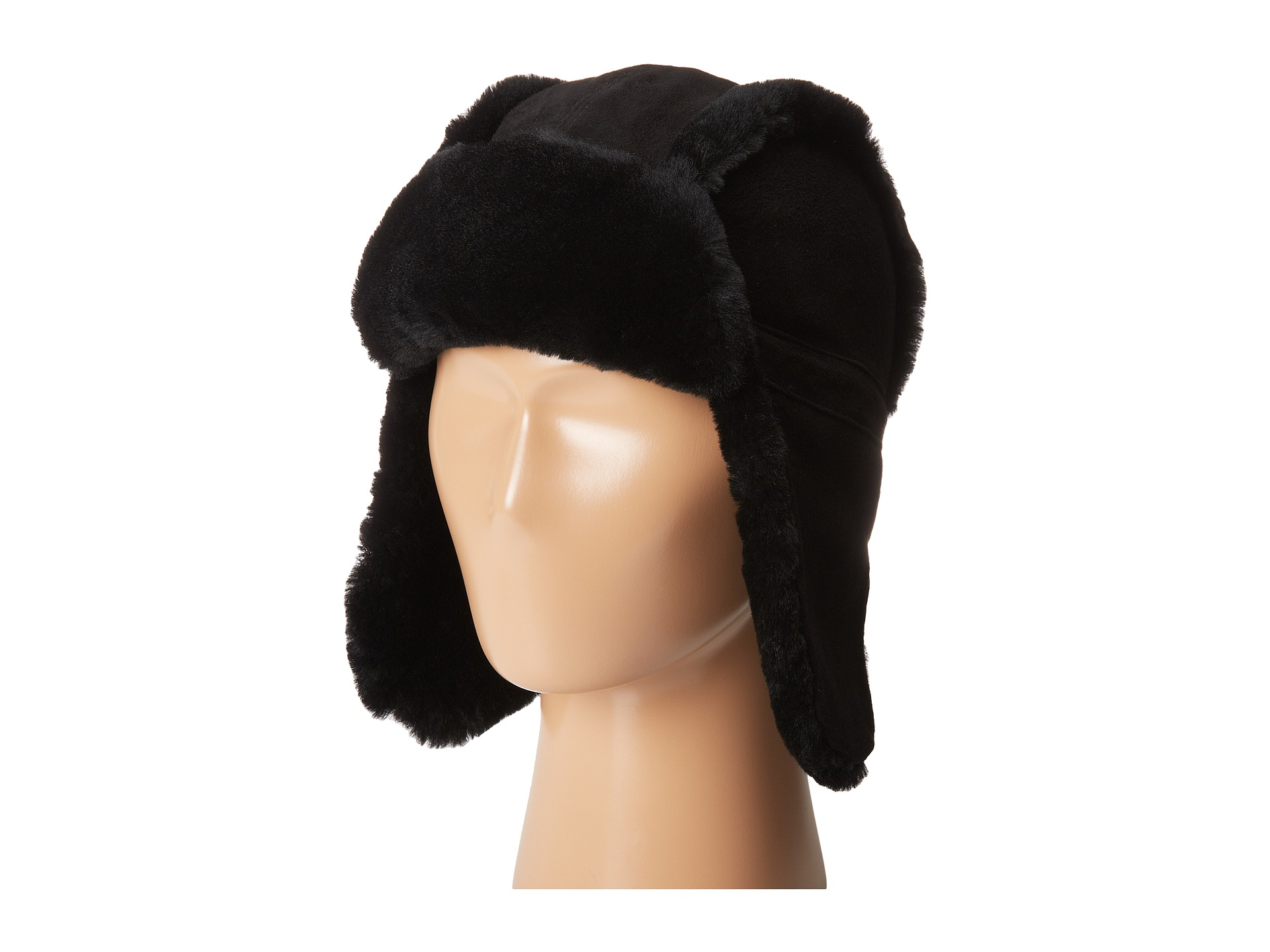 ugg black aviator hat