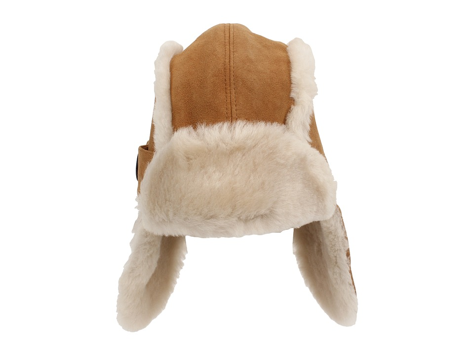 UGG Kids Bailey Aviator Chestnut Traditional Hats