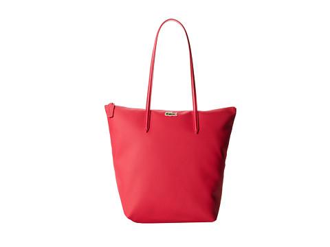 Lacoste L.12.12 Concept M1 Vertical Tote Bag - Petunia Pink
