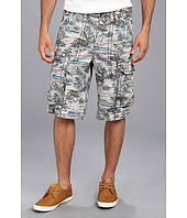 True Religion - Pacific Island Cargo Isaac Big T Short