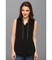 MICHAEL Michael Kors - Petite Sleeveless Chain Neck Blouse