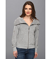 MICHAEL Michael Kors - Petite L/S Terry Cloth Zip Front Jacket