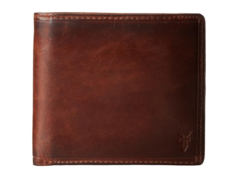 Frye - Logan Billfold (Cognac Antique) Wallet Handbags