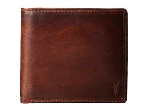 Frye Logan Billfold - Cognac Antique